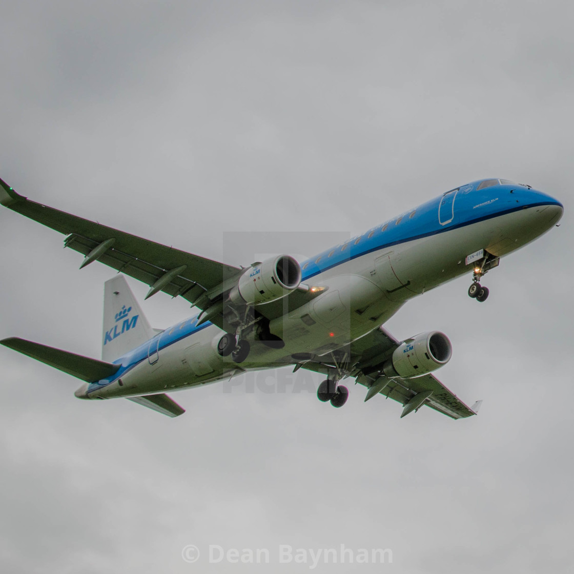 """""""KLM Arrival"""" stock image"""