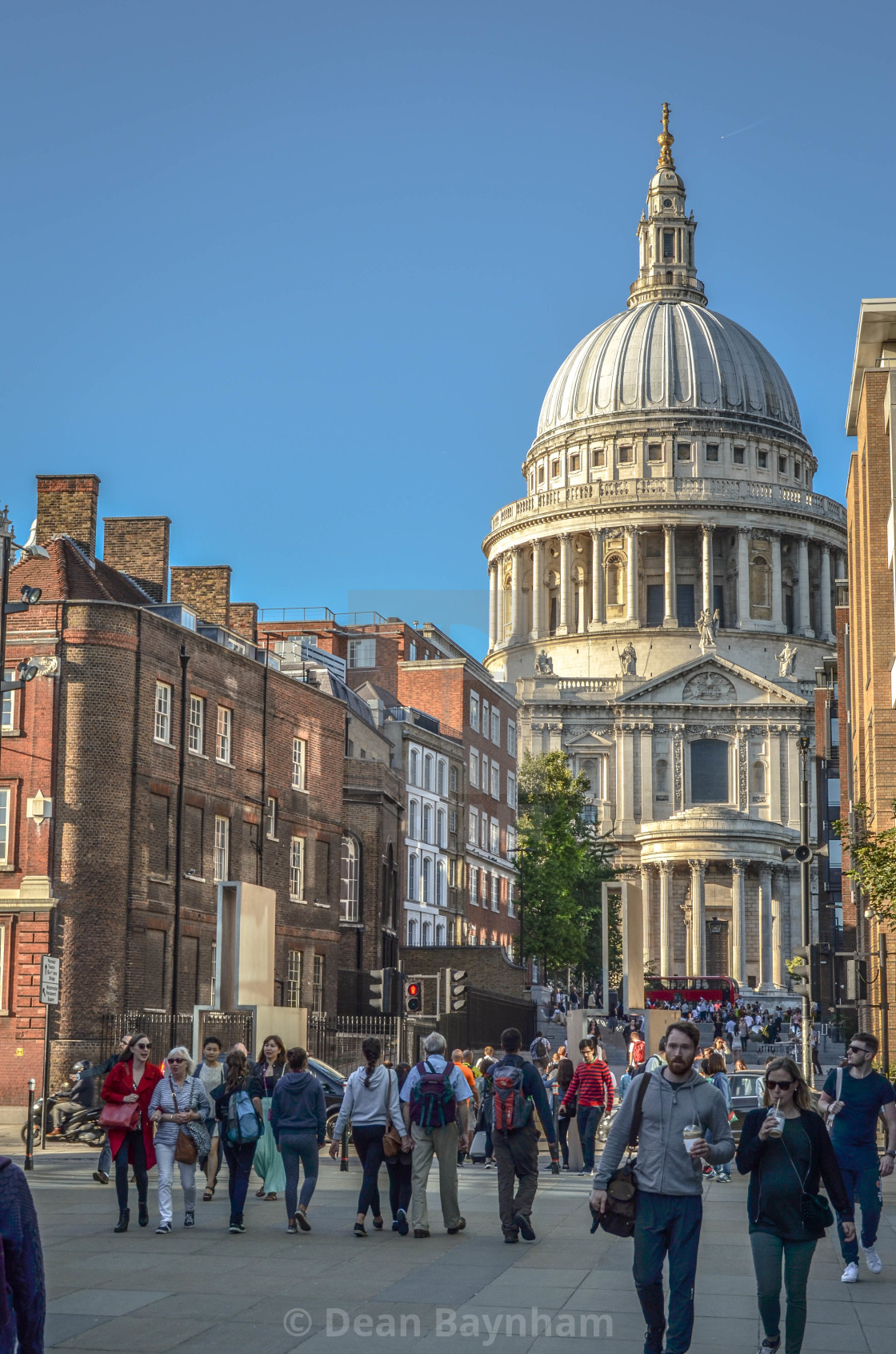 """St. Paul's Cathedral"" stock image"