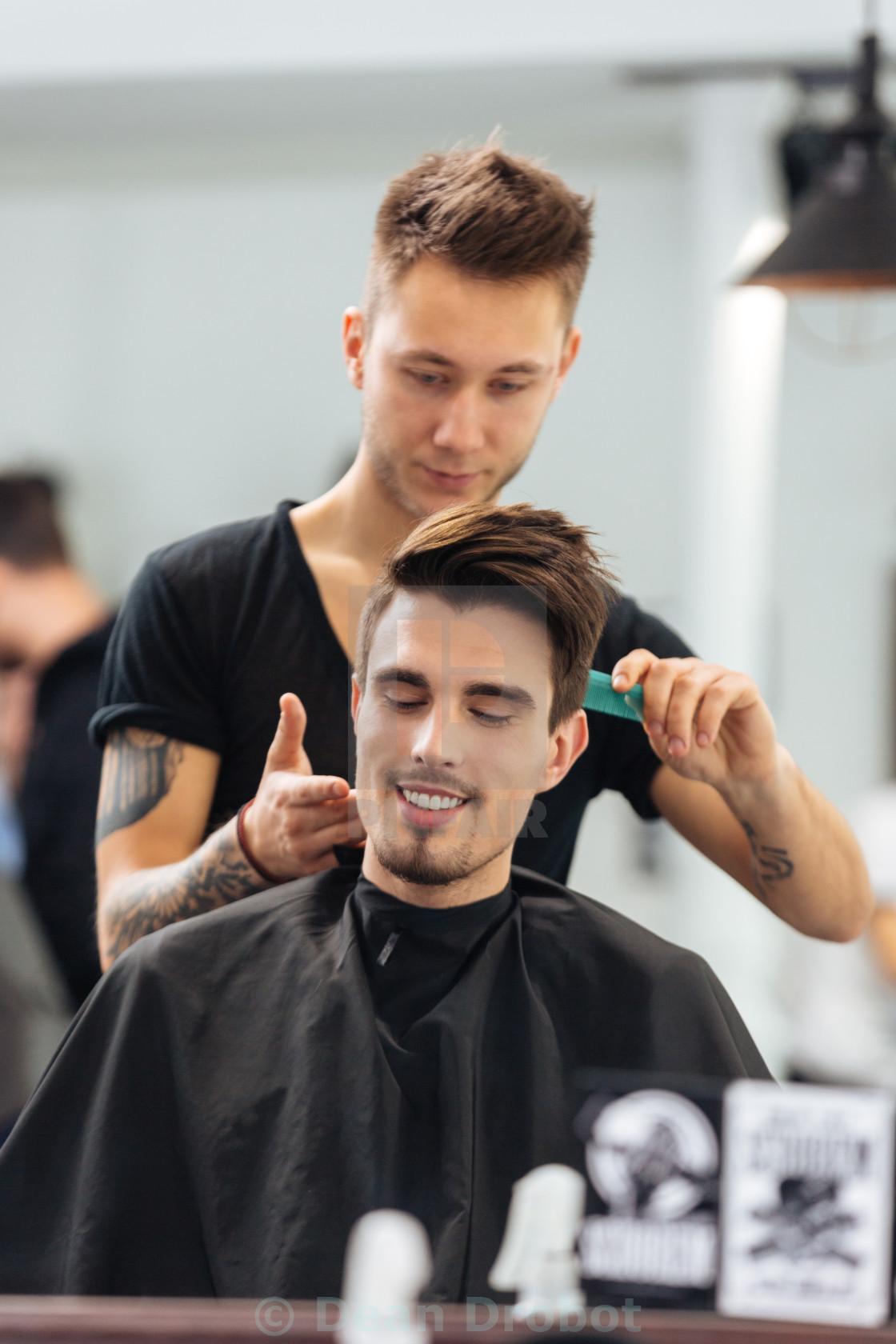 Getting A Haircut 92