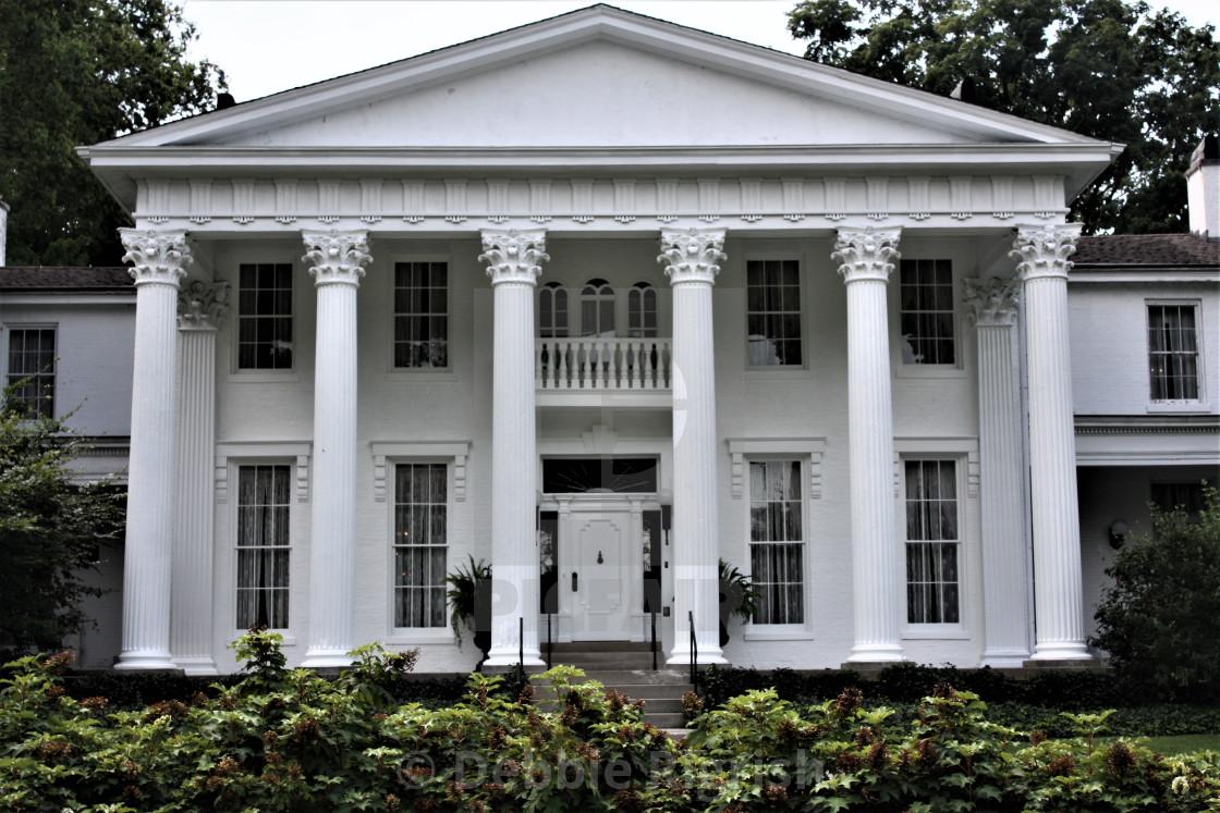 """Whitehall Mansion"" stock image"