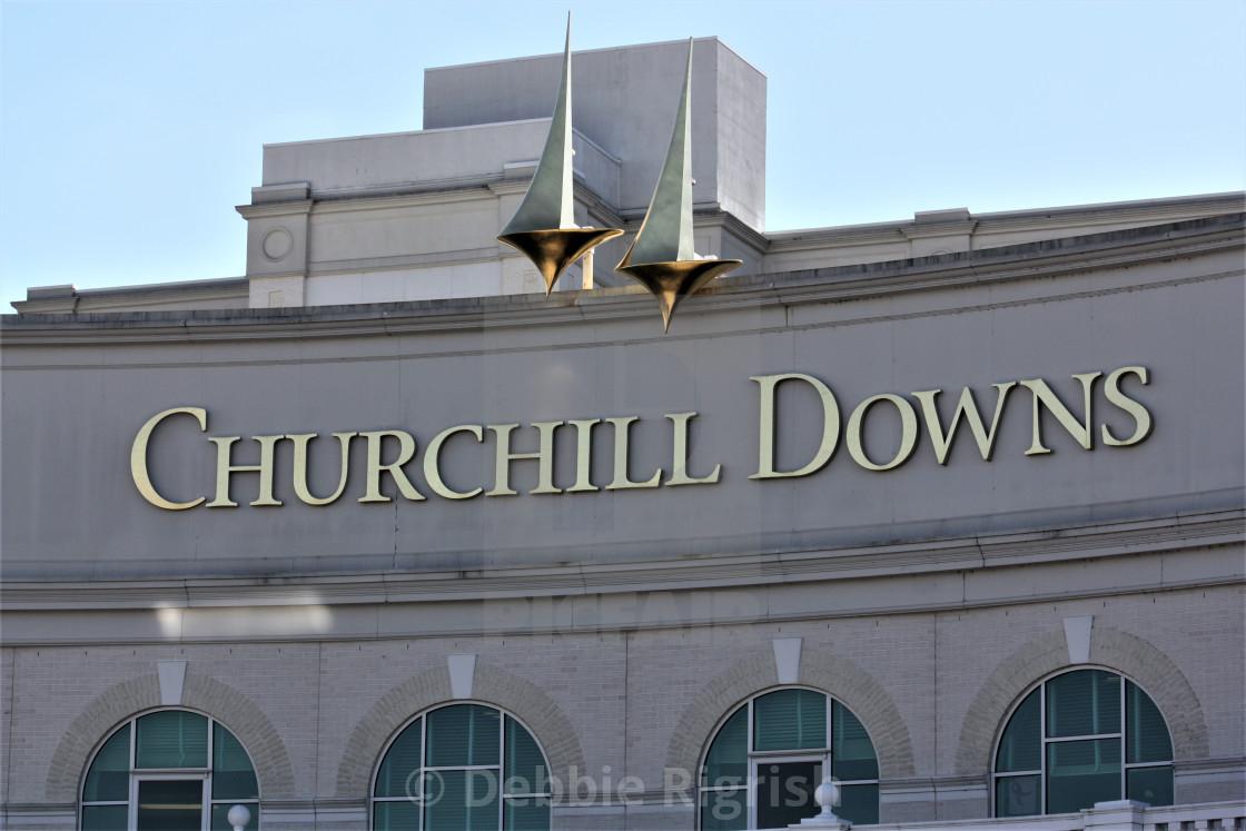 """Churchill Downs"" stock image"
