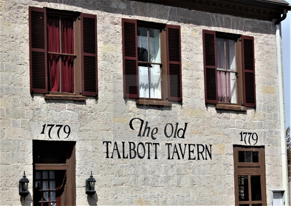 """""""Old Talbott Tavern"""" stock image"""