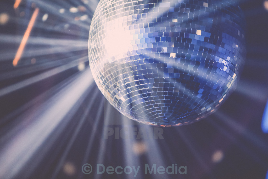 """Disco Ball Burst"" stock image"