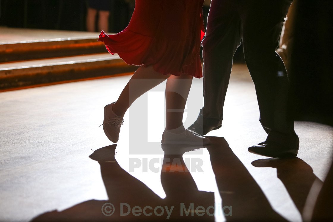 """Dancing Feet 3"" stock image"