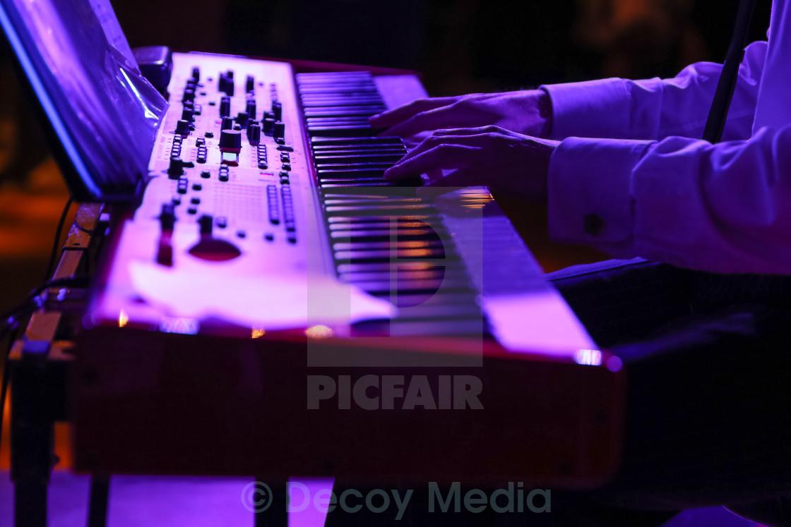 """The Purple Keys"" stock image"