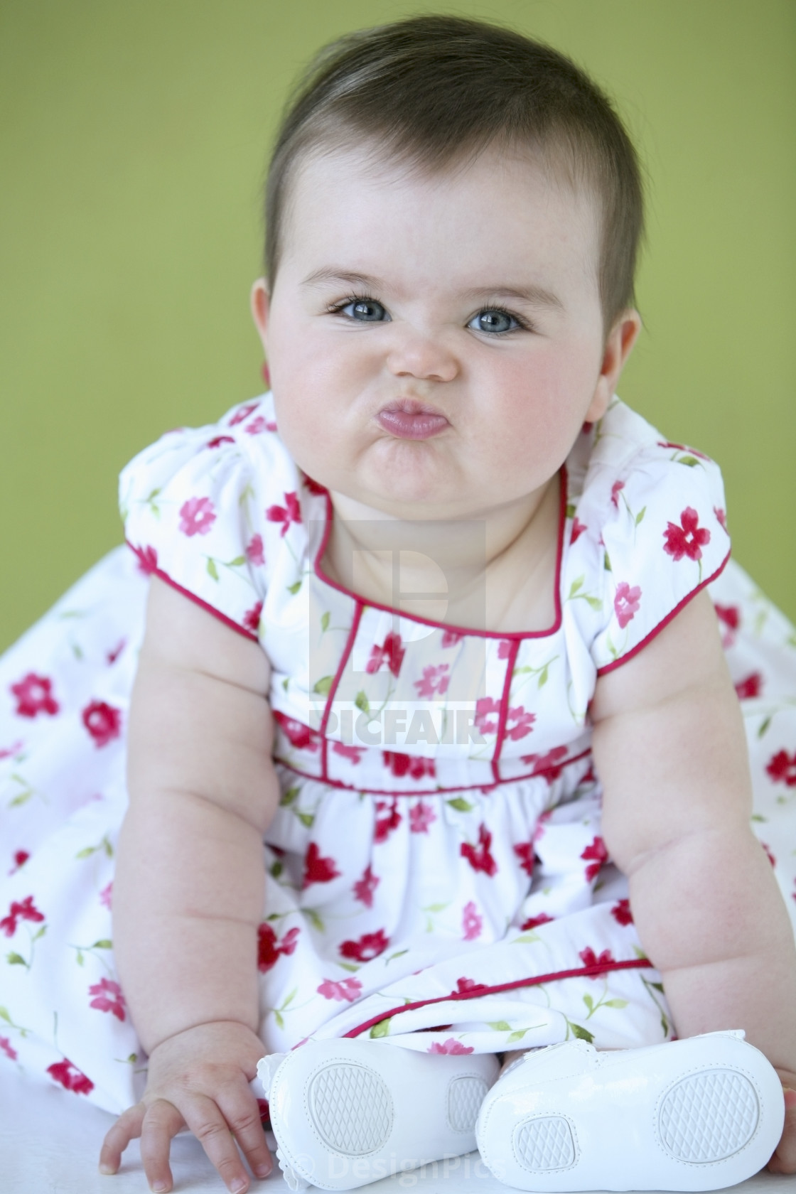 8999cab44 Baby Girl With Funny Face - License