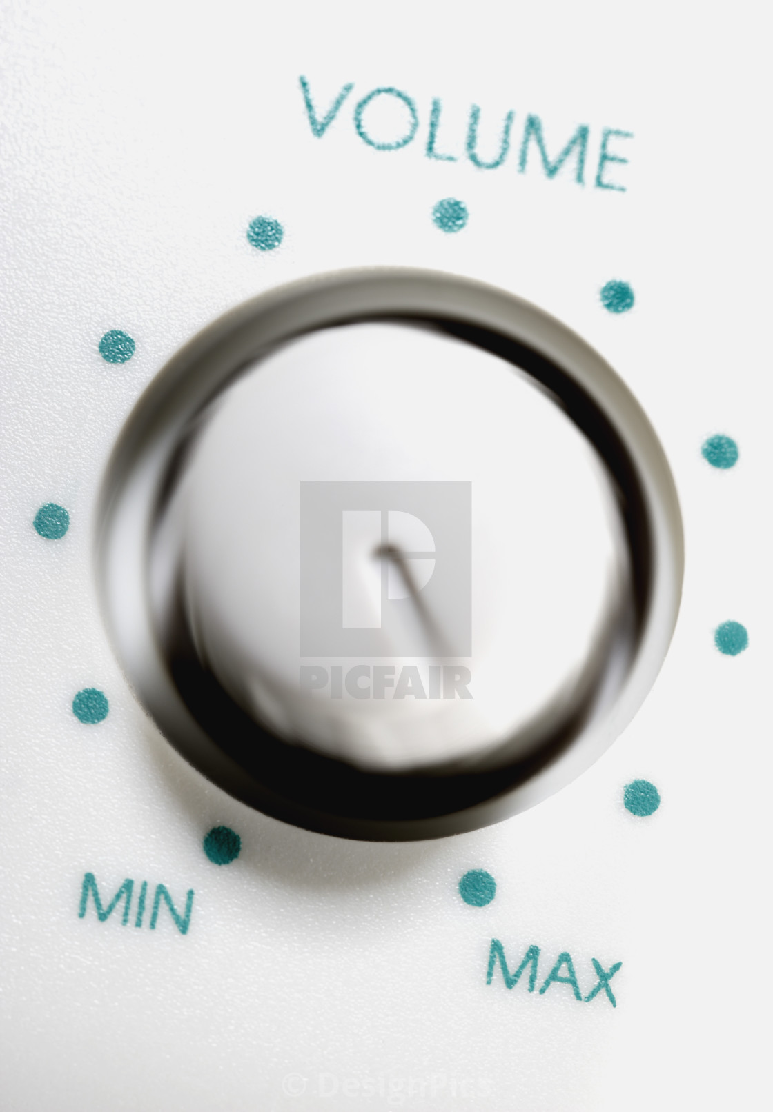 Volume Control Dial - License, download or print for £37 59 | Photos