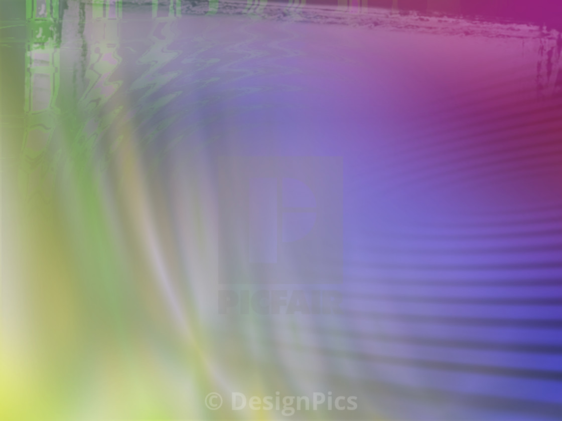"""Multi-Coloured Computer Generated Image"" stock image"