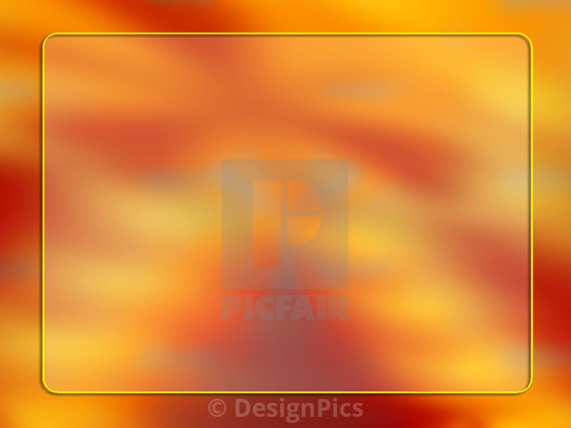 """Orange Computer Graphic Design"" stock image"