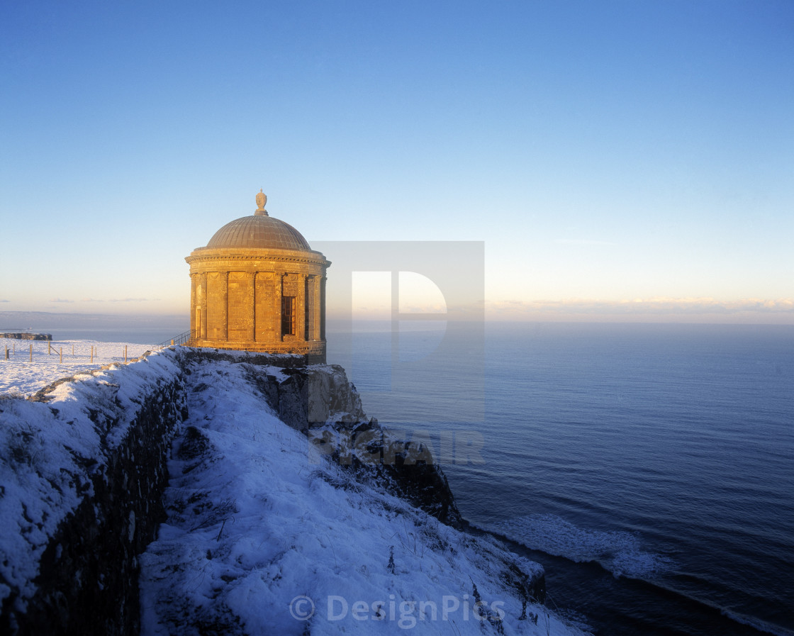 """Mussenden Temple In Northern Ireland"" stock image"