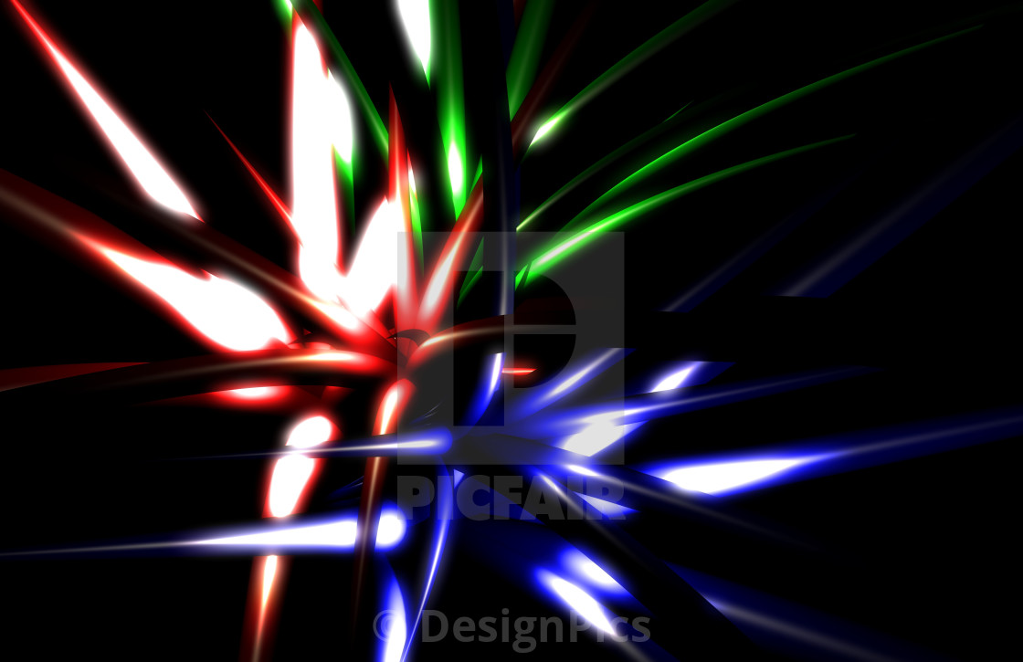 """Computer Generated Abstract Design"" stock image"