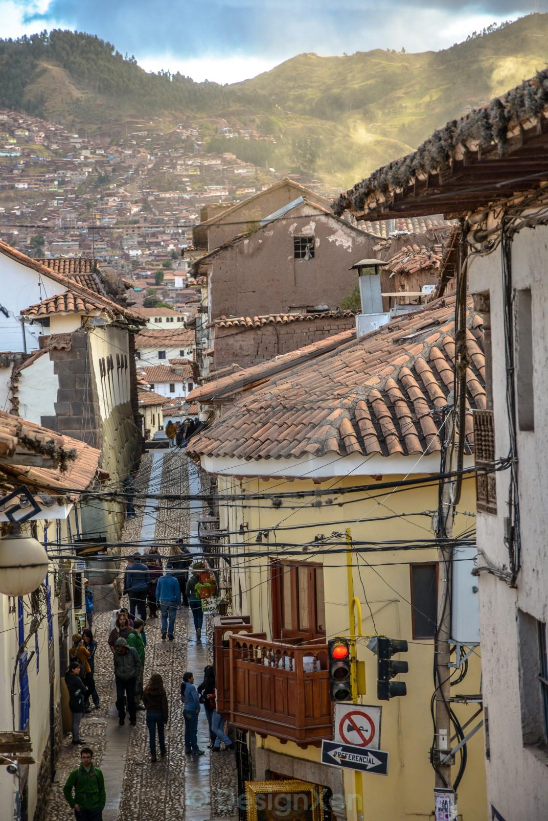 """""""Cusco Streets"""" stock image"""