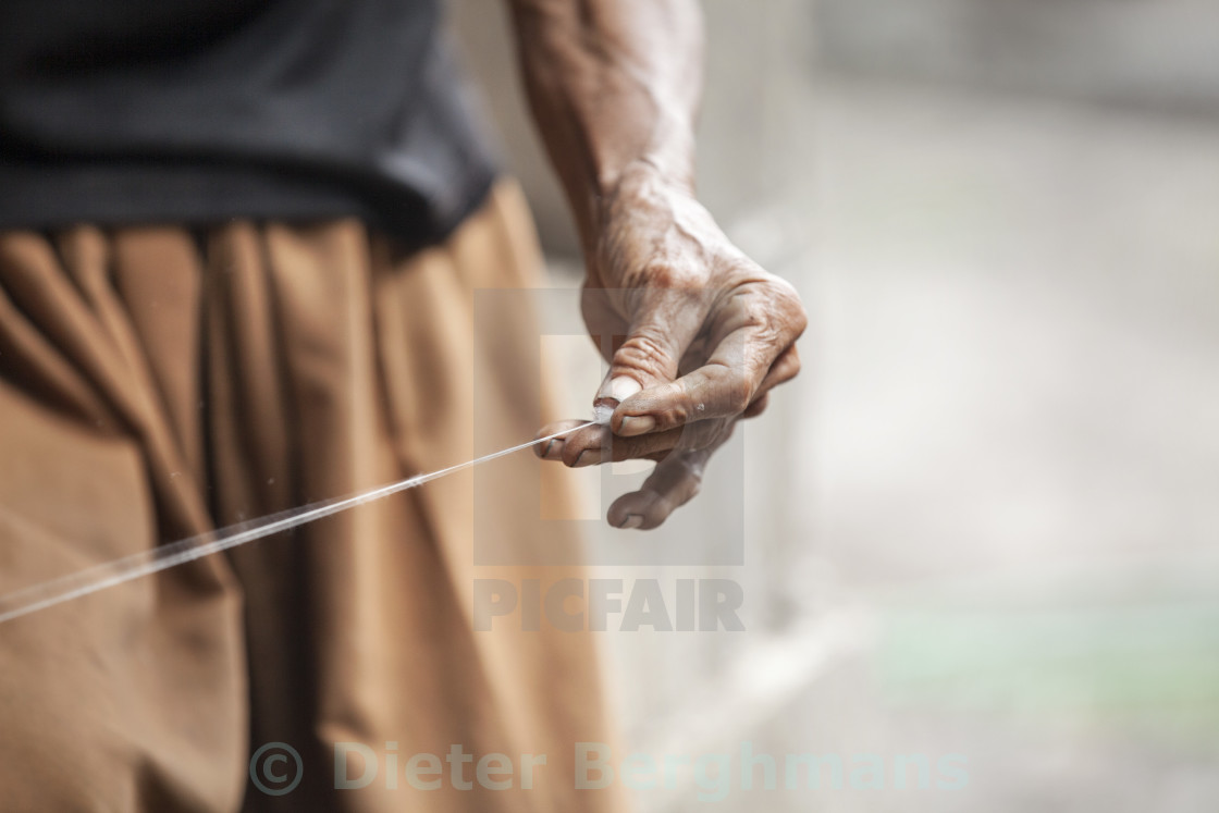 """""""cotton spinners"""" stock image"""