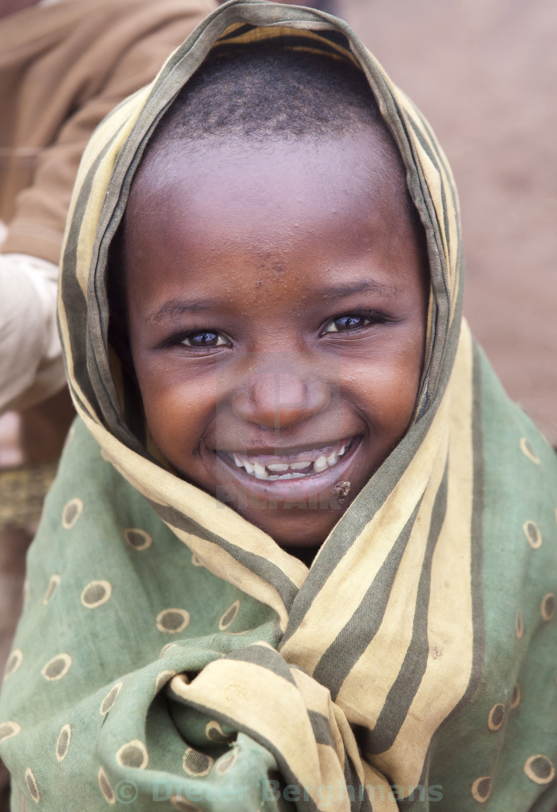 """Smiles of Africa"" stock image"