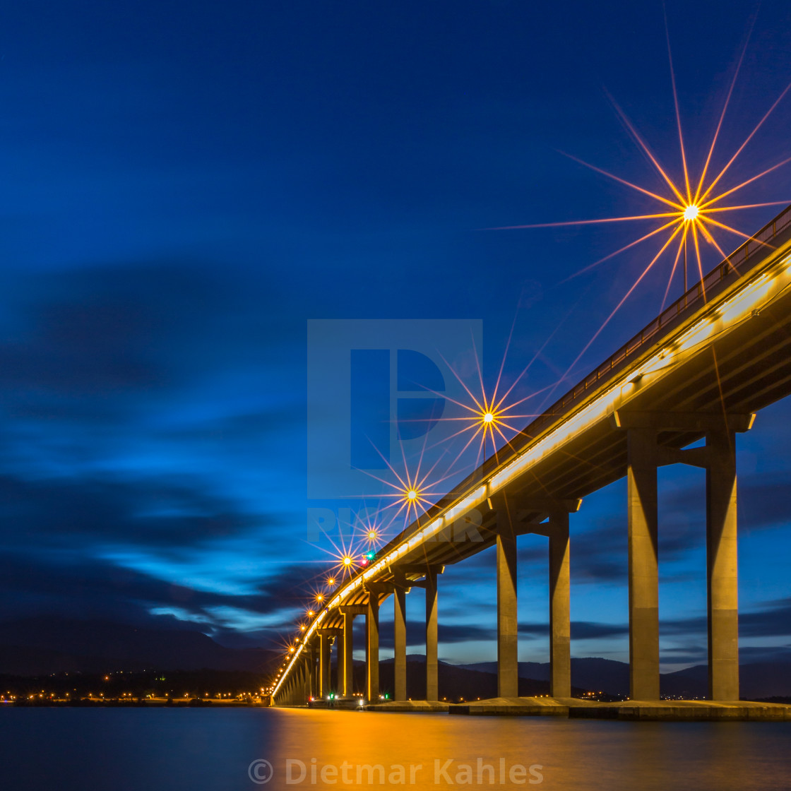 """Tasman Bridge"" stock image"