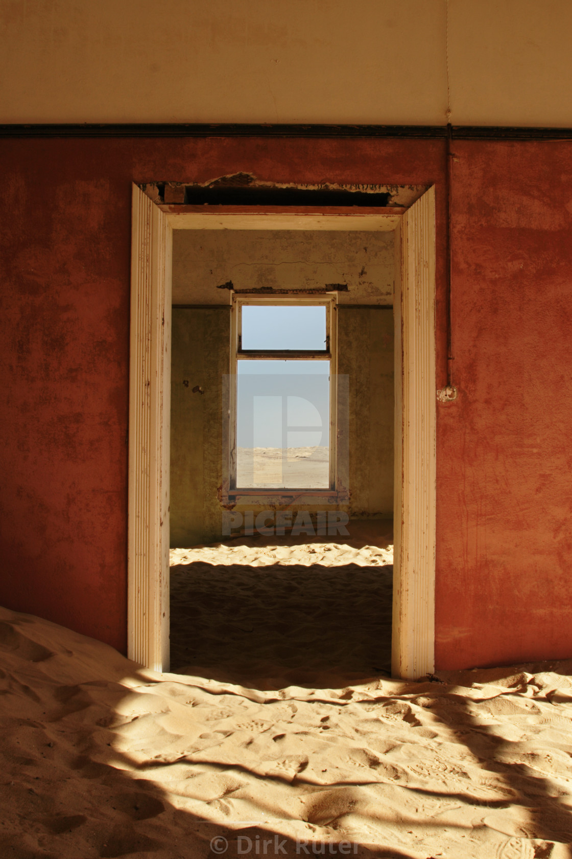 """Deserted House"" stock image"