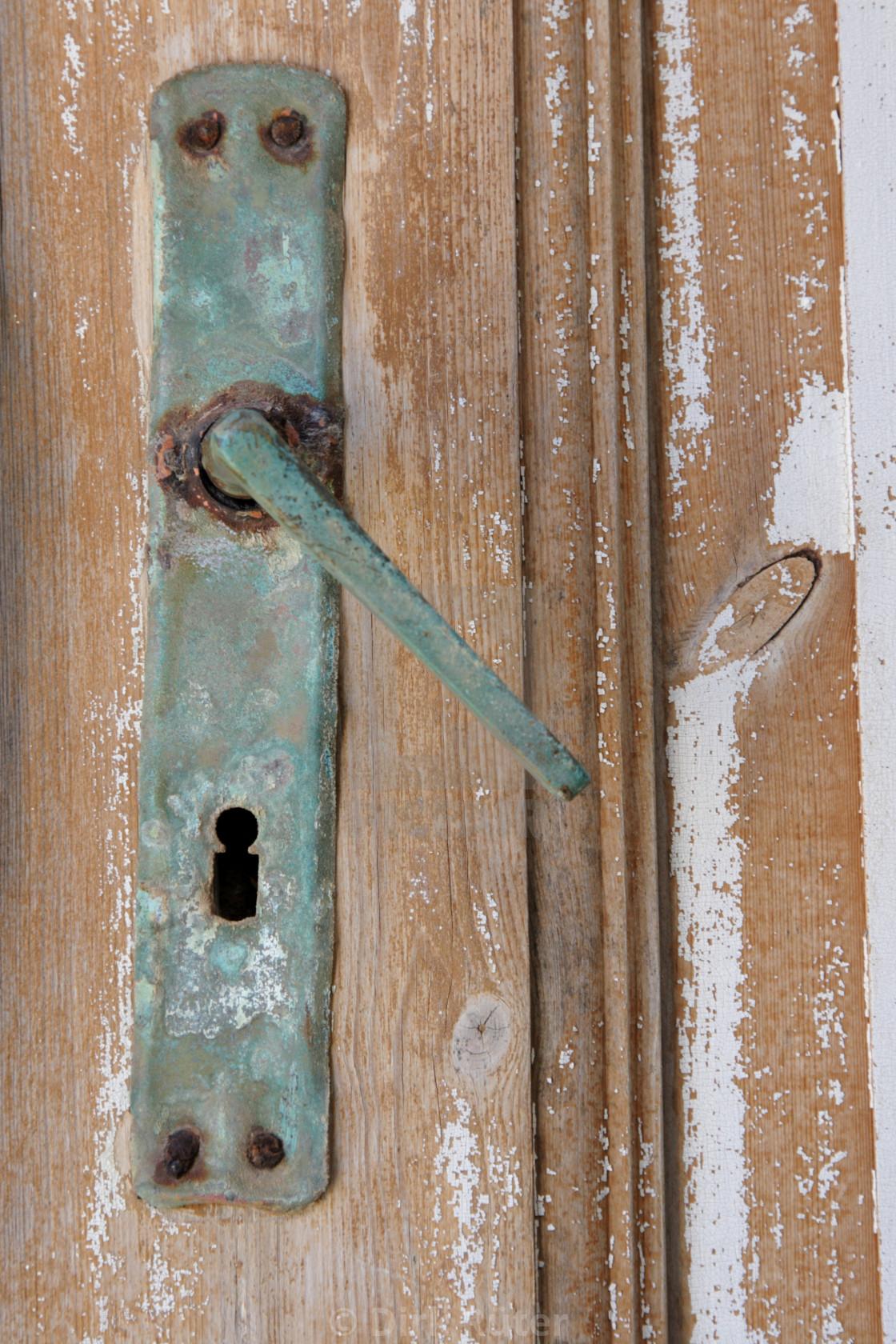 """""""Door handle"""" stock image"""