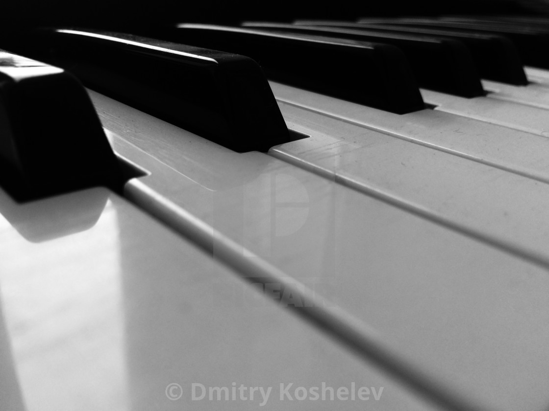 """Piano"" stock image"