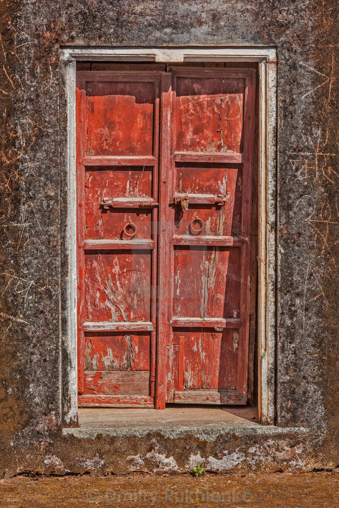 Wooden old door vintage texture background - License ...Old Door Texture