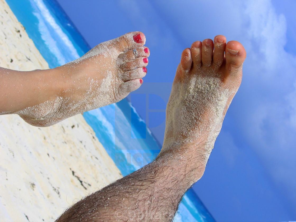 """""""Happy Feet"""" stock image"""