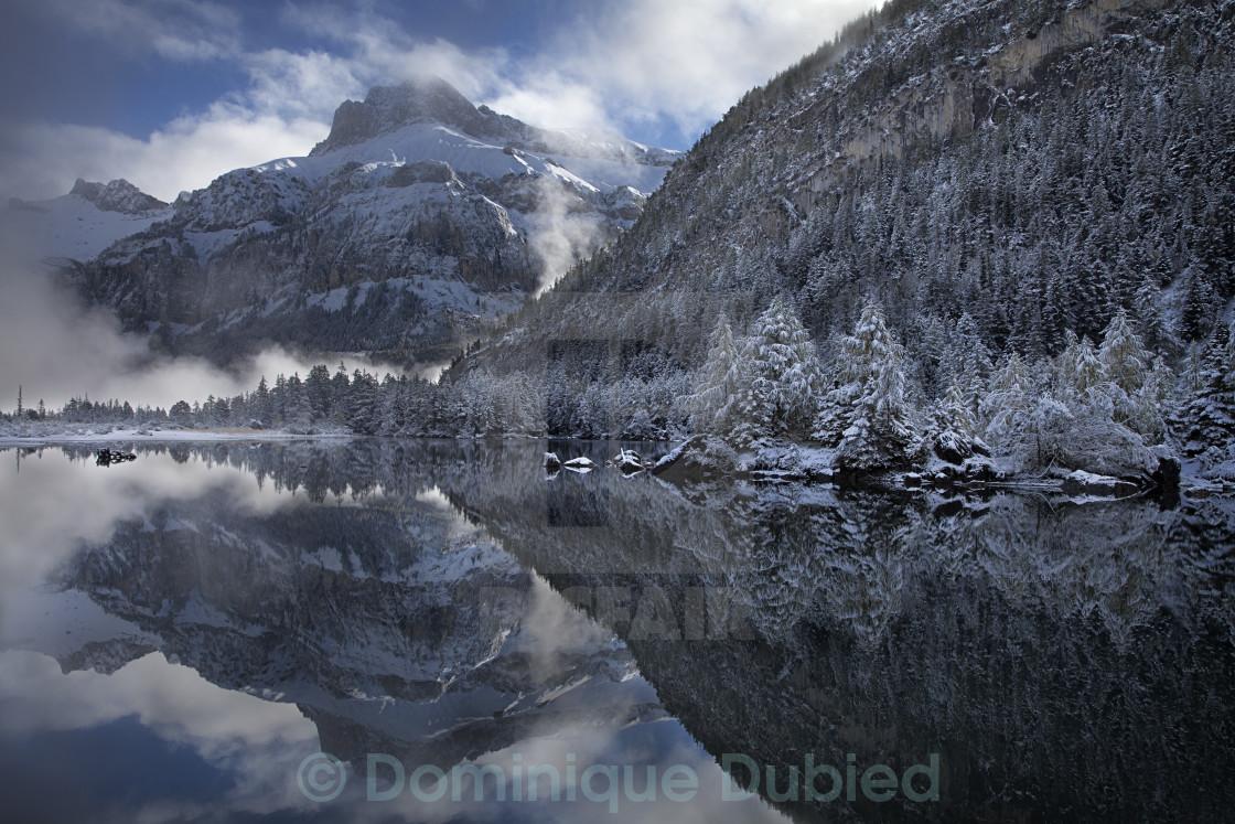 """Misty Reflections"" stock image"