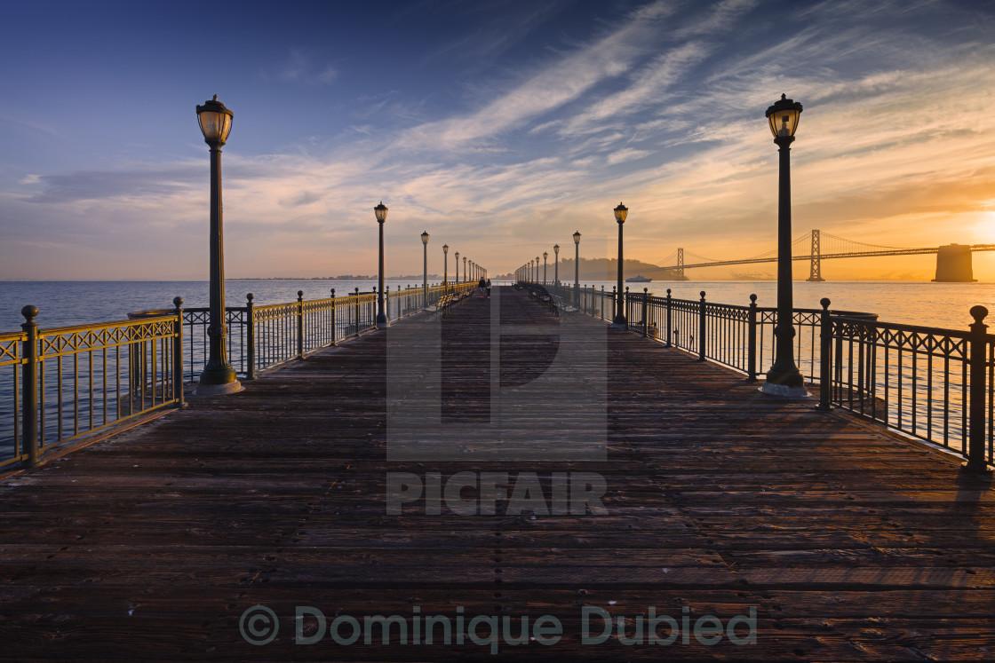 """Pier 7"" stock image"