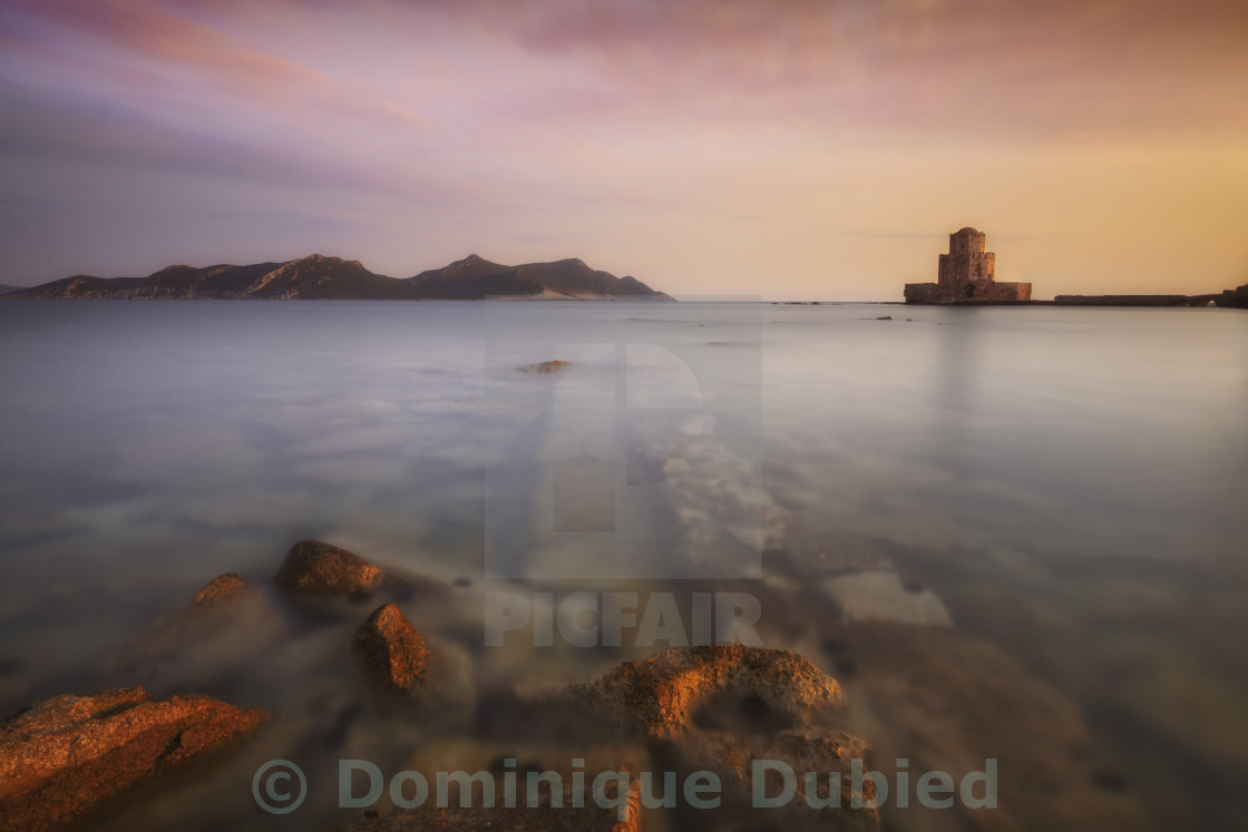 """Methoni castle"" stock image"