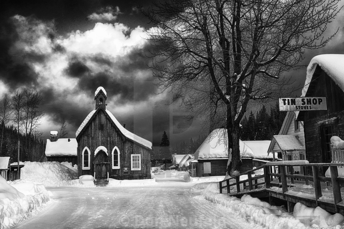 Barkerville Church 2 - License, download or print for £12 40