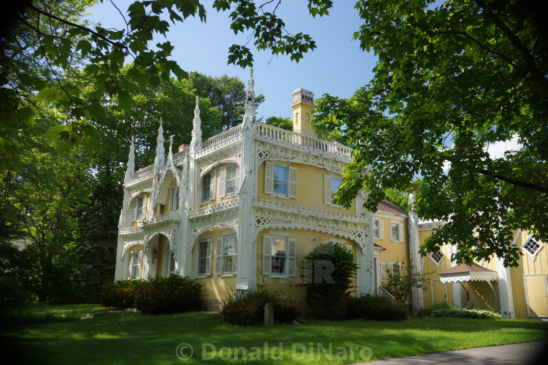 Wedding Cake House In Maine Usa License Download Or Print For