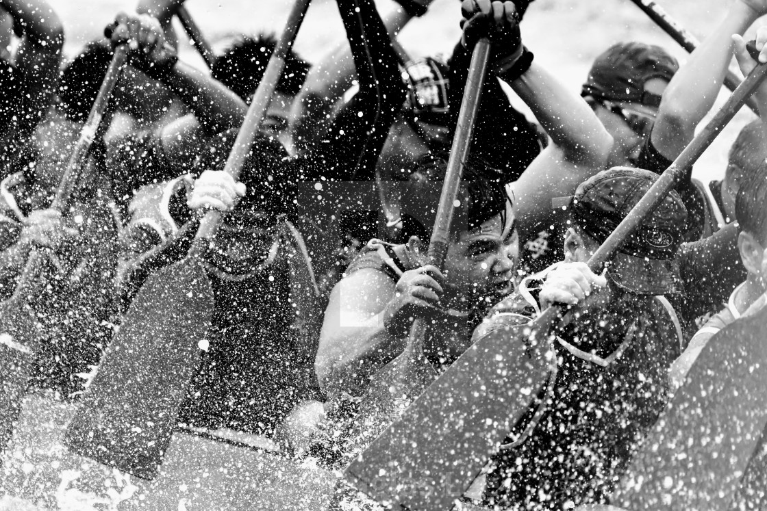 """Dragon boat game"" stock image"
