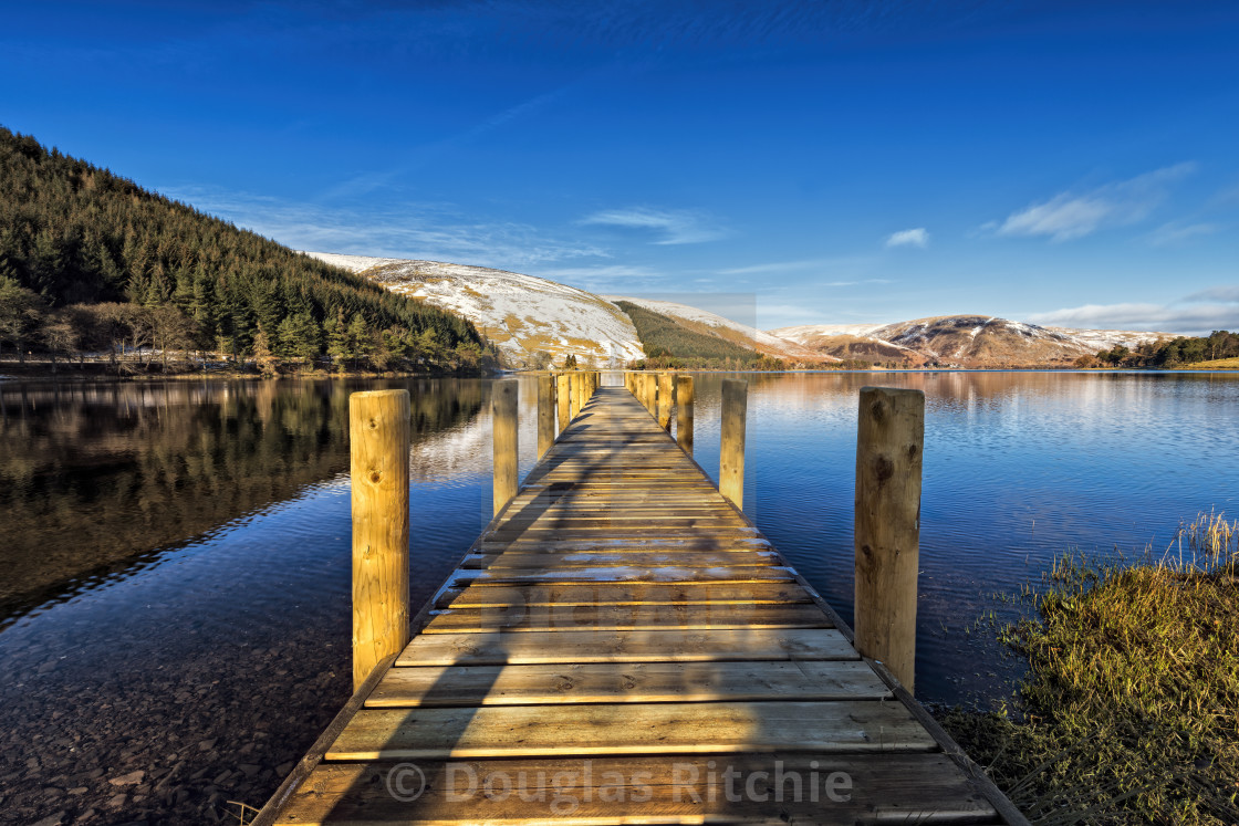 """St Marys Loch"" stock image"