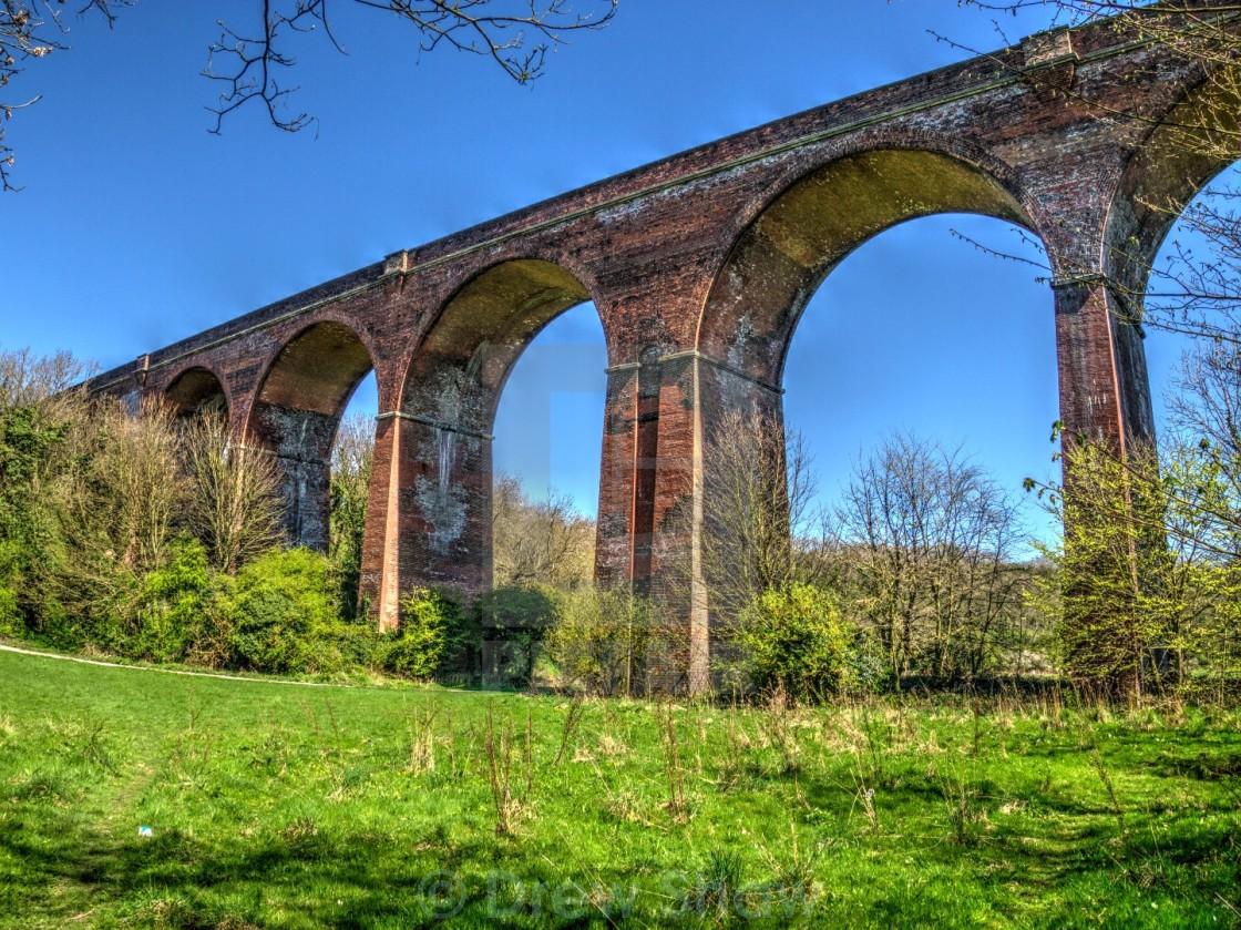 """Crimdon Viaduct"" stock image"