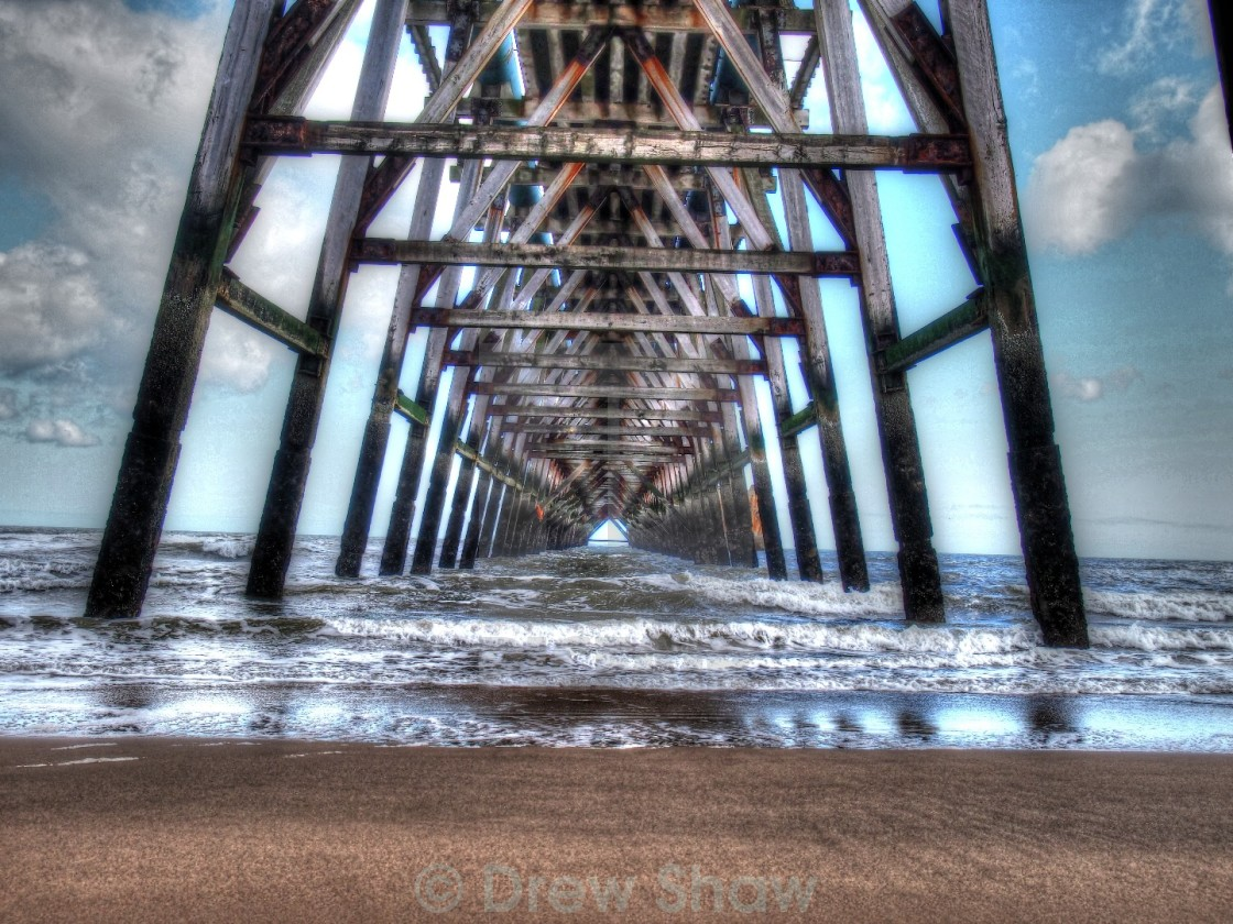 """Steetly Pier Hartlepool"" stock image"