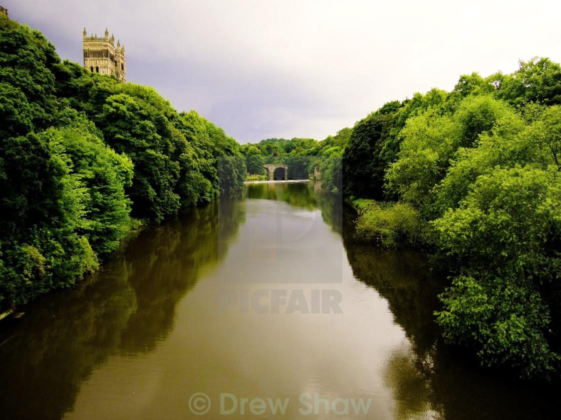 """River Wear Durham"" stock image"