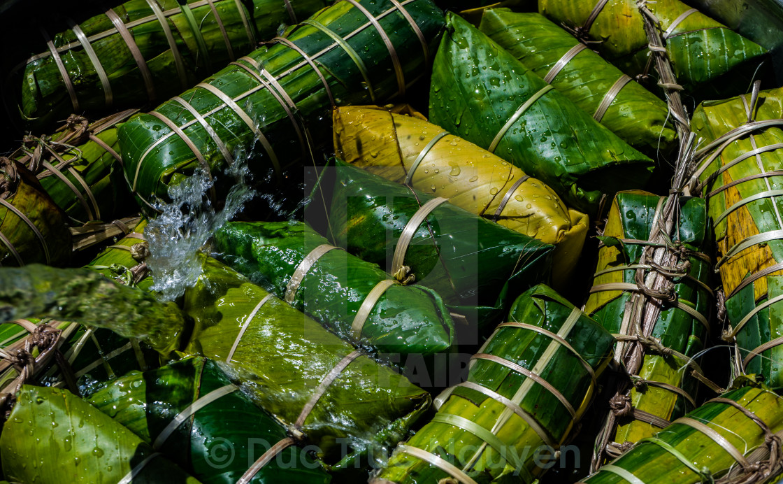 """Sticky rice cake"" stock image"