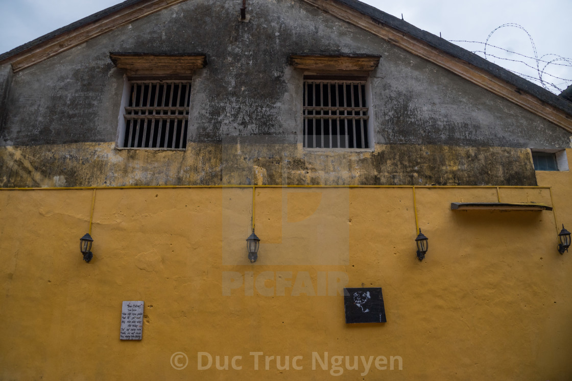"""""""Corners of the ancient town Hoi an in Vietnam."""" stock image"""