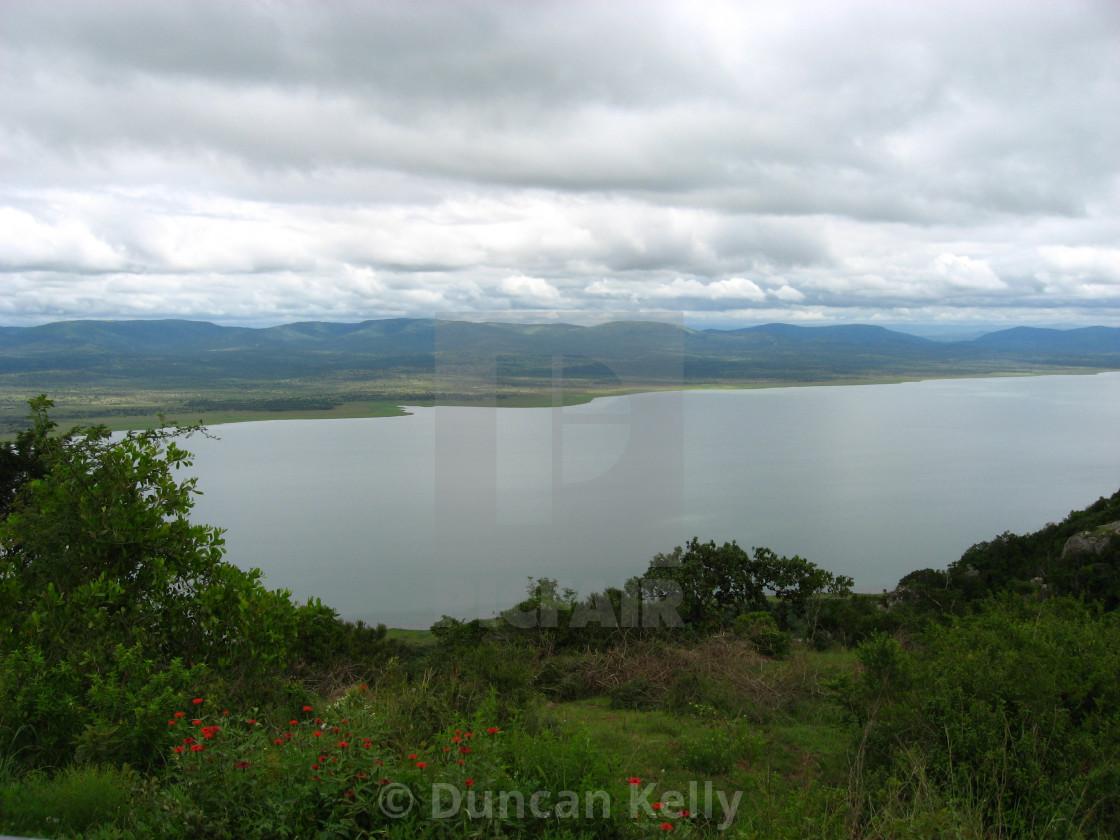 """""""Jozini dam, Tiger fish habitat"""" stock image"""