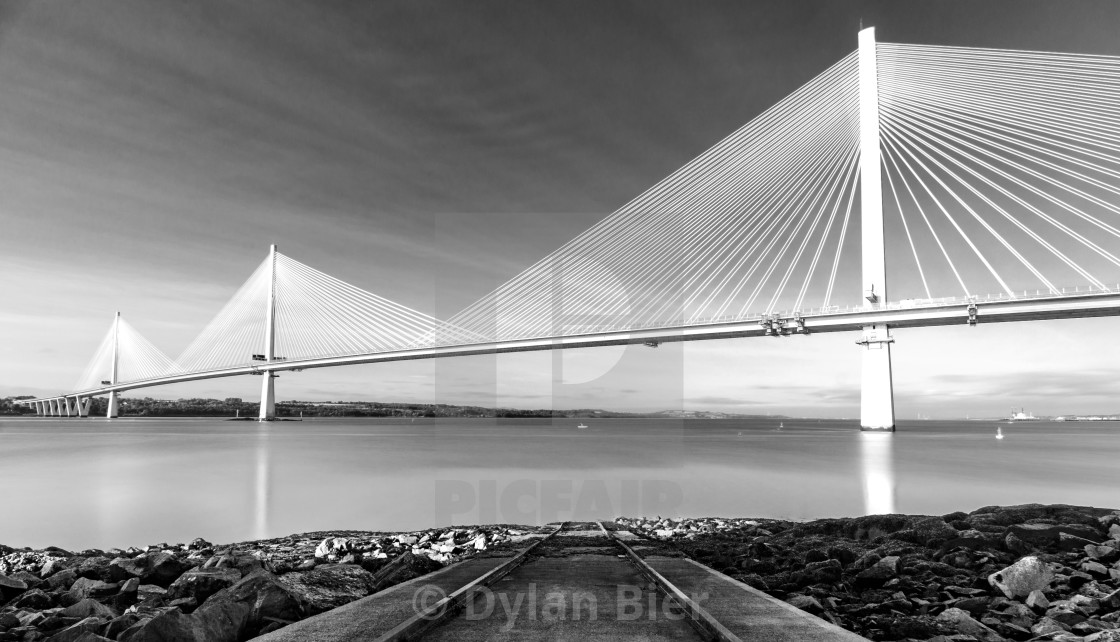"""The Queensferry Crossing 3"" stock image"