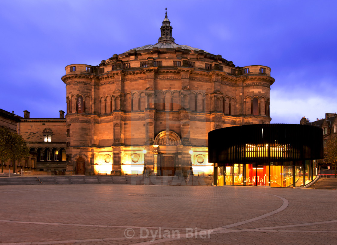 """The McEwan Hall"" stock image"