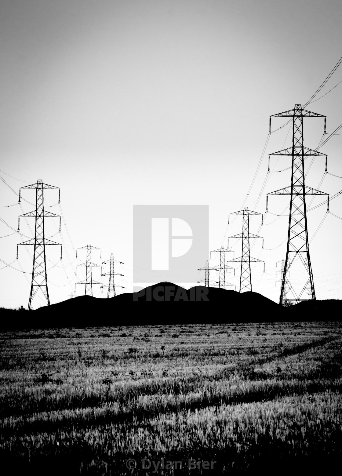 """Power From The Mountains"" stock image"