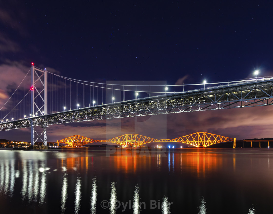 """""""Stars Over The Forth"""" stock image"""