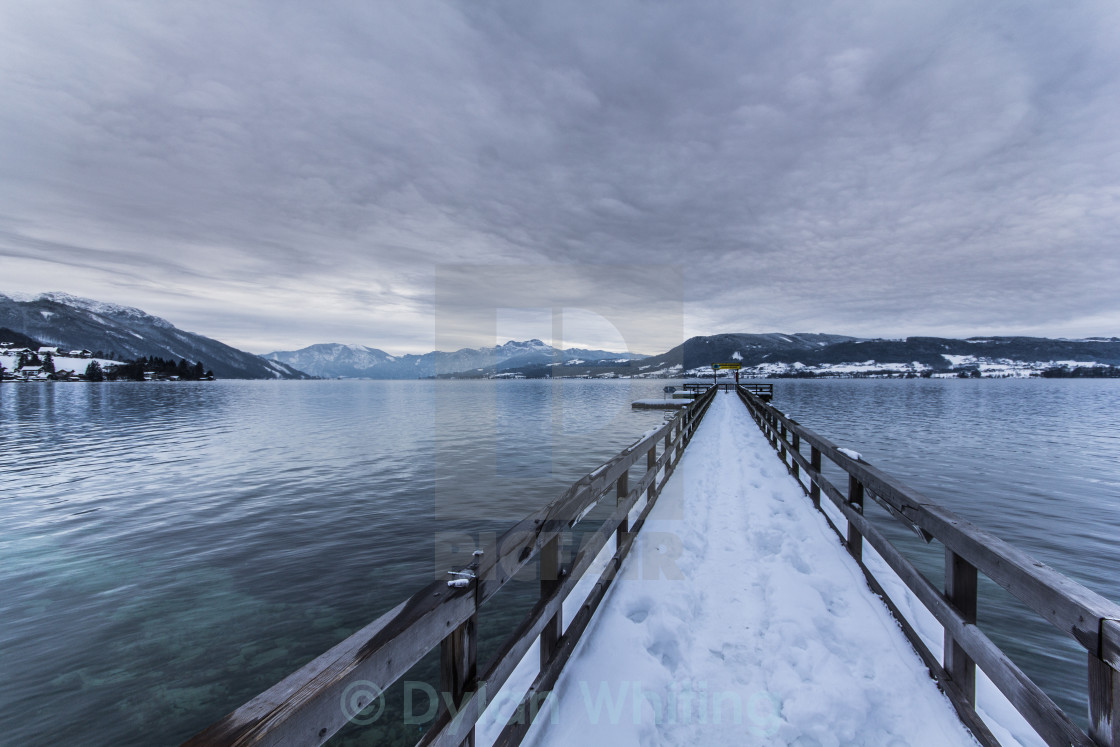 """Cold Lake"" stock image"