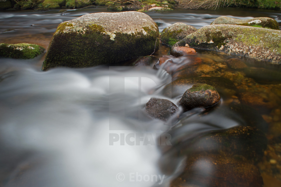 """Dreamy Dartmoor"" stock image"