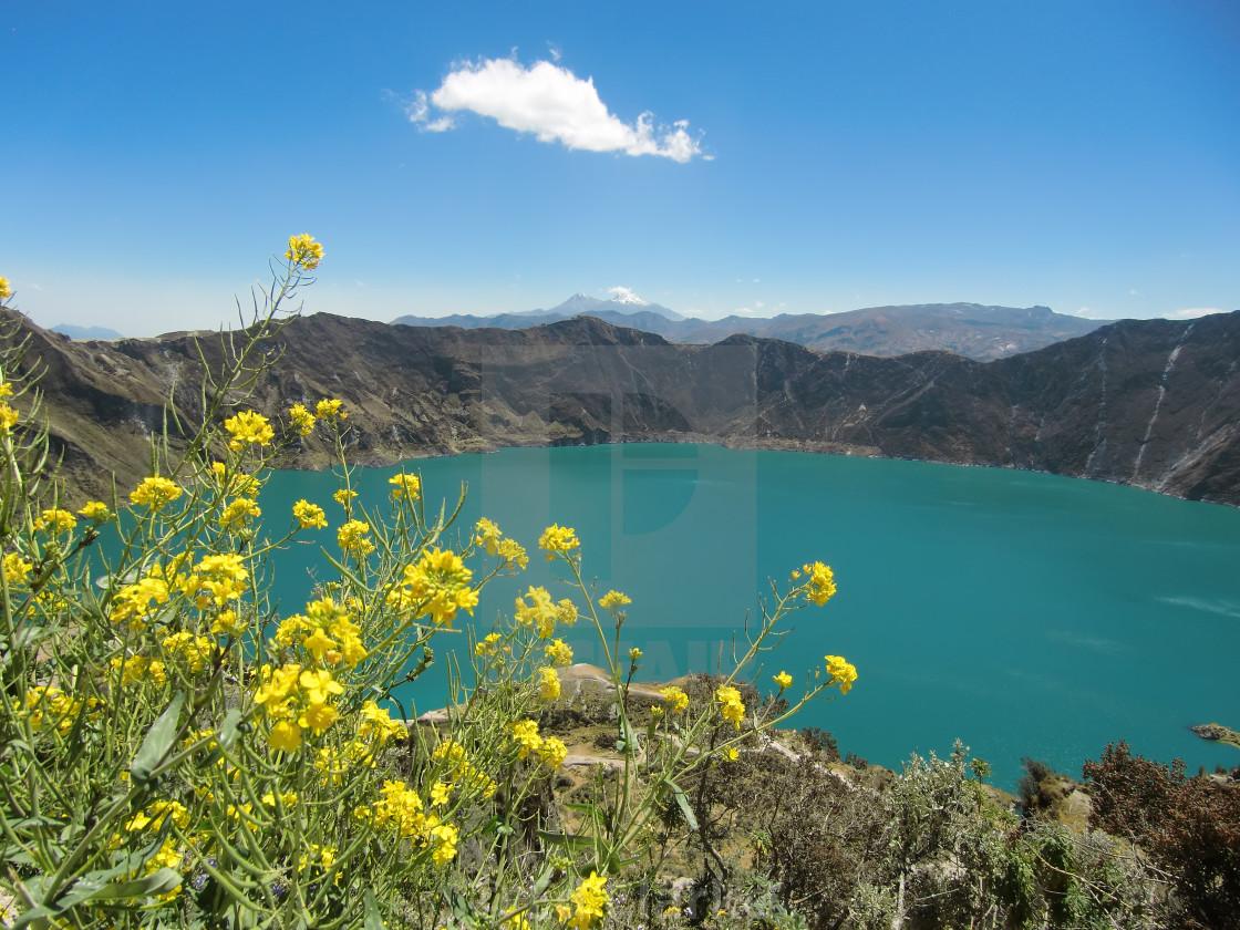 """Crater Lake"" stock image"