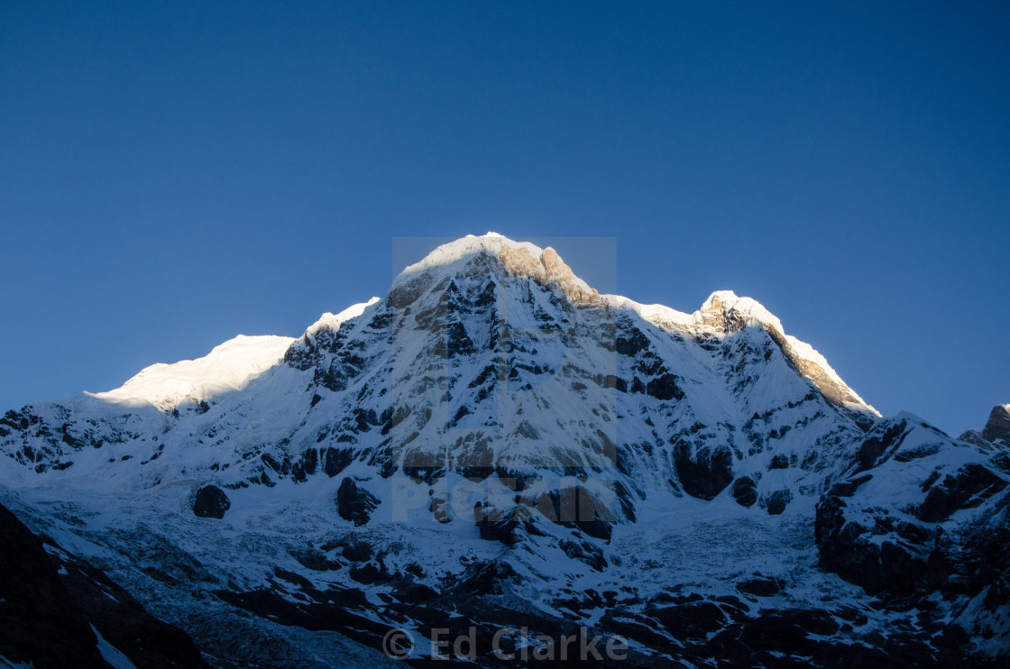 """Annapurna South"" stock image"