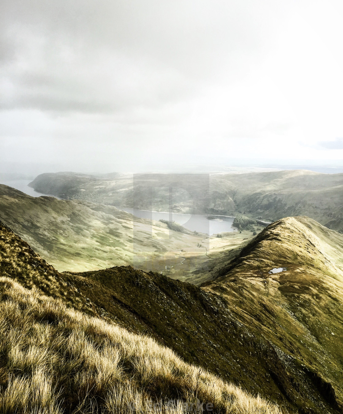 """Haweswater Mist"" stock image"