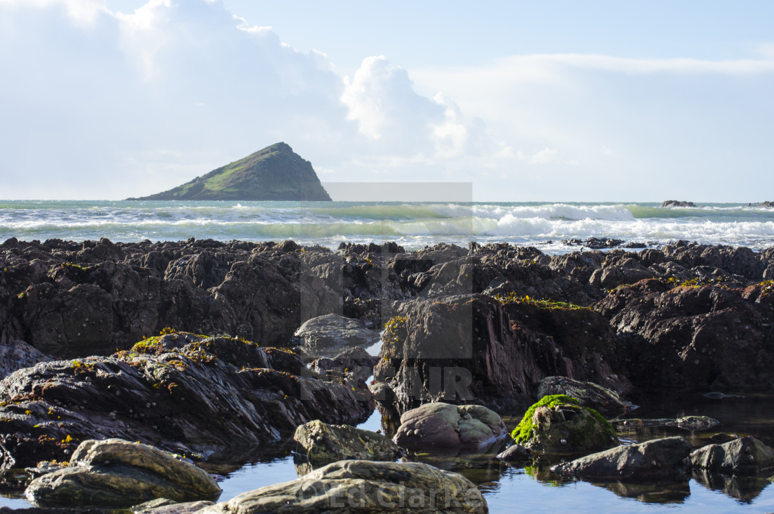 """Wembury"" stock image"
