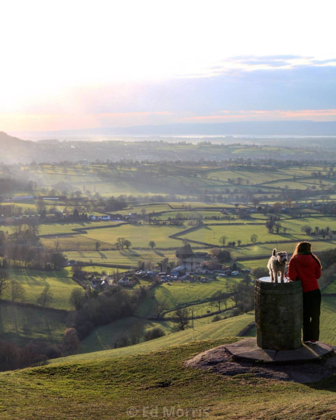 """Coaley Peak, Stroud."" stock image"
