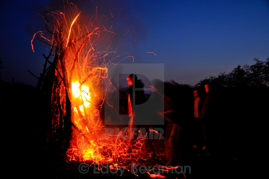 """Campfire"" stock image"