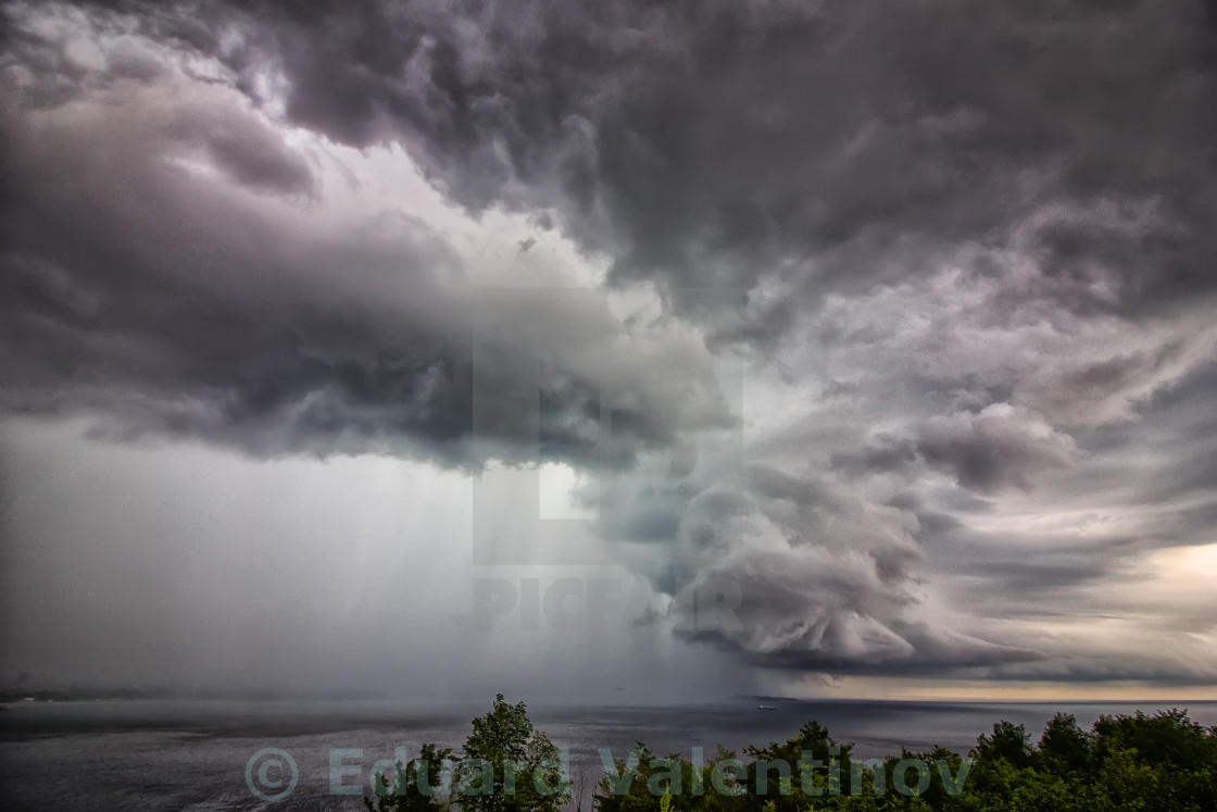 """stormy clouds"" stock image"